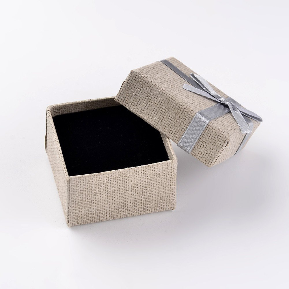 5.1 x 5.2 x 3.1 cm NBEADS Juego de 48 Cajas de Regalo para Boda para Ocasiones Especiales con Cubo de Color para Joyas