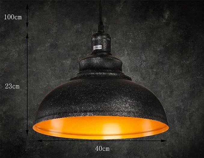 Gzd luci interne retrò appesi lampadario lampada in stile