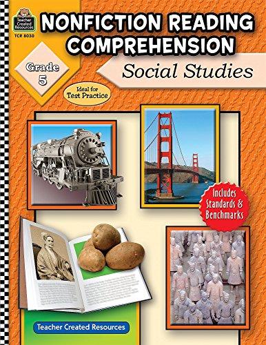 Nonfiction Reading Comprehension: Social Studies, Grade 5