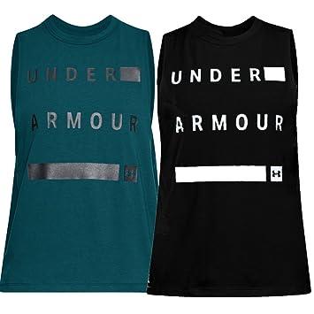 Under Armour Damen Sport Freizeit Fitness Tank Top Shirt Muscle 1310482