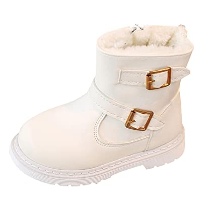 For 0.5-3 Years Baby, CMrtew Fashion Children Girls Boys Martin Sneaker Winter Thick Warm Snow Boots