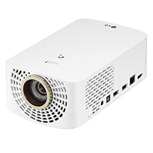 LG HF60LA LED Full HD CineBeam Projector with Smart TV and Bluetooth Sound Out (2019 Model)