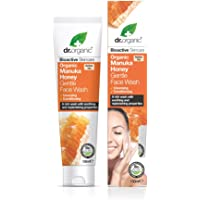 DR ORGANIC Gentle Face Wash Organic Manuka Honey, 150 Milliliter