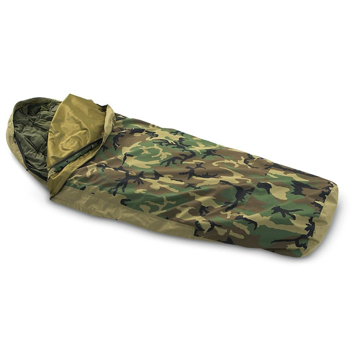 Woodland Camouflage Waterproof Bivy Cover TENNIER