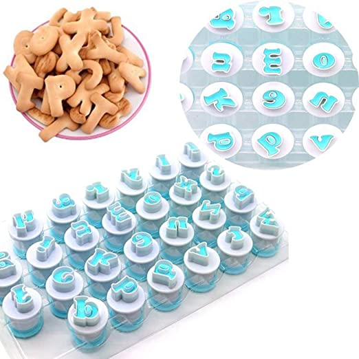 Baking Tools Plunger Mould Biscuit Rectangle Cookie Cutter Fondant Cake Mold