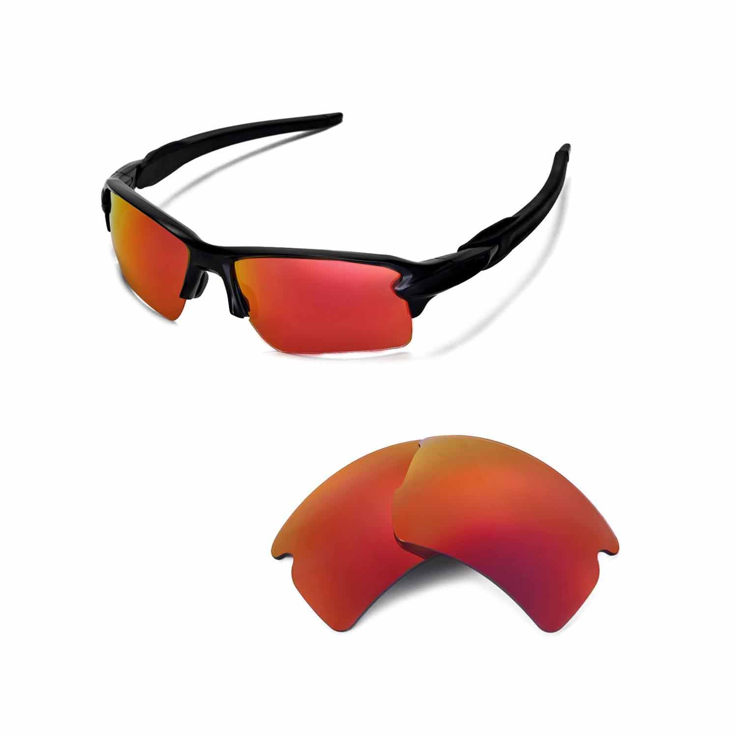 0dac2c8c9ecd8 Walleva Replacement Lenses for Oakley Flak 2.0 XL Sunglasses - 26 Options  Available