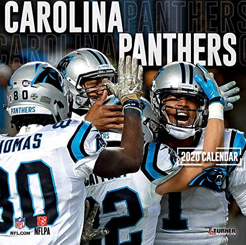 Carolina Panthers Schedule 2020.Carolina Panthers 2020 12x12 Team Wall Calendar Lang