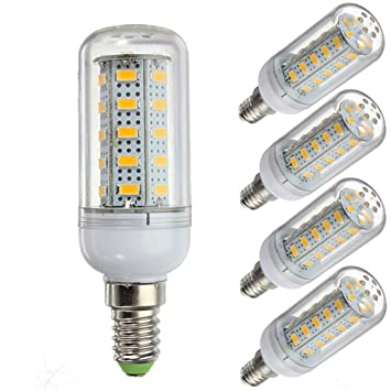 LED Almacén, Bombilla LED DE 12 voltios y 6 vatios, G9/E12/E14/E27 12-80v de bajo Voltaje, Bombilla 6w: Amazon.es: Electrónica