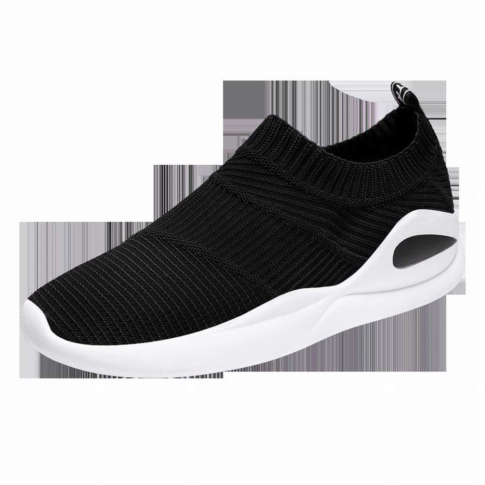 Fuxitoggo Klassische Allgleiches Beiläufige Schuhe Bequeme Atmungsaktive Turnschuhe Turnschuhe Turnschuhe Mode Fliegen Weben Laufschuhe (Farbe   Grau Größe   EU 40) 3a8933