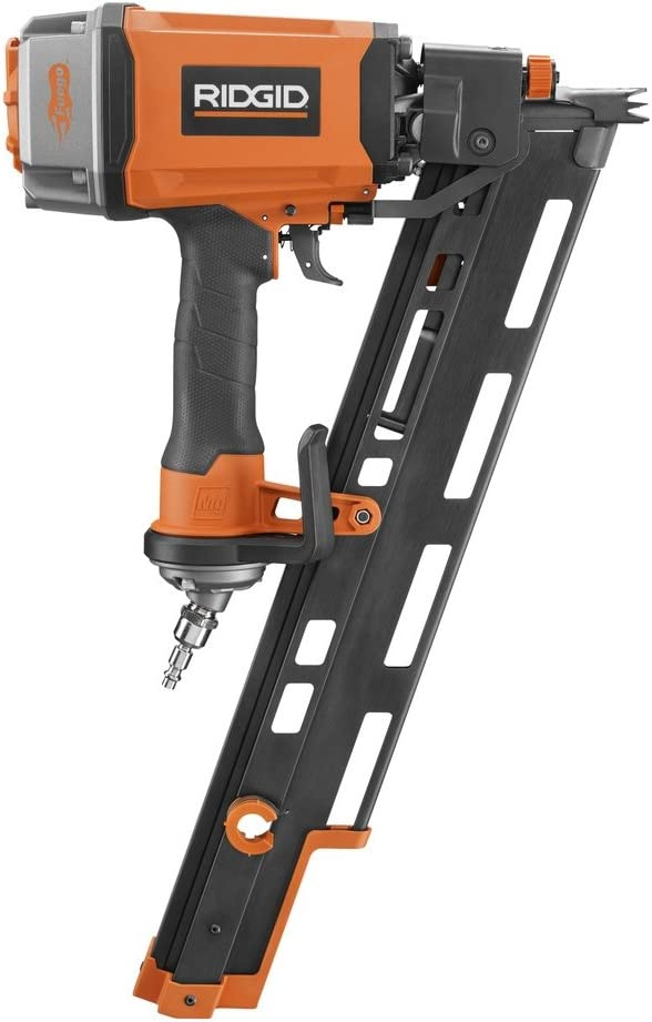 Ridgid ZRR350RHE Pneumatic Round Head Framing Nailer Renewed