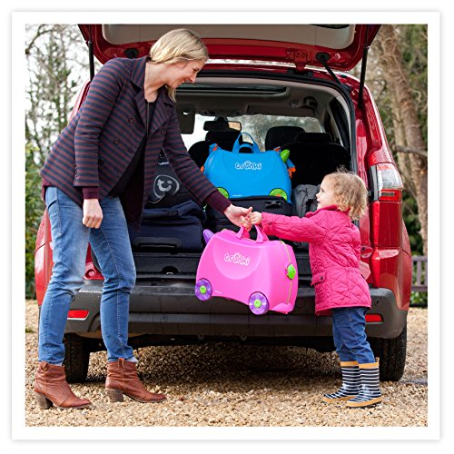 Trunki Original Kids Ride-On Suitcase and Carry-On - Terrance (Blue) by Trunki (Image #15)