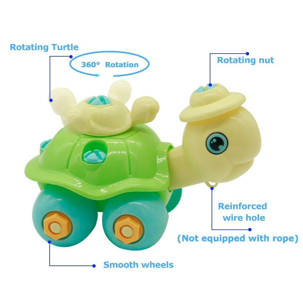 Nuheby Giochi Da Assemblare Animali Assemblare Animali Plastica Per Bambini Gioco Educativo 3,4,5,6 Anni