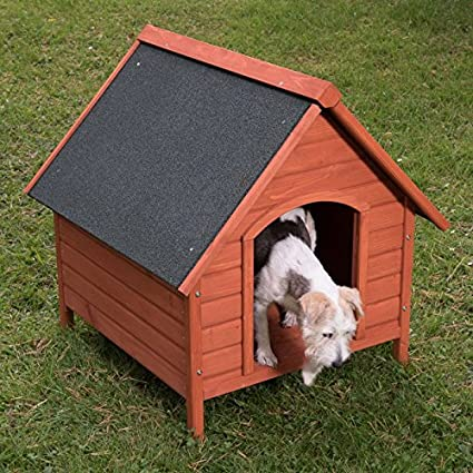 animalmarketonline Caseta para perros litera de madera para exterior Santoku L 82 x p 80 x H
