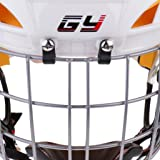 simhoa CE Certified Ice Hockey Helmet W/Cage Face