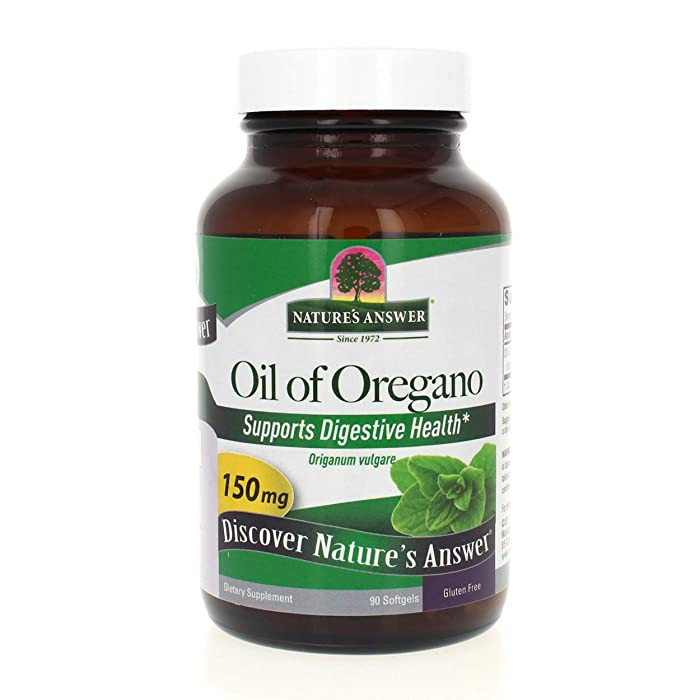 Top 10 Oregano Oil Capsules Nature Way