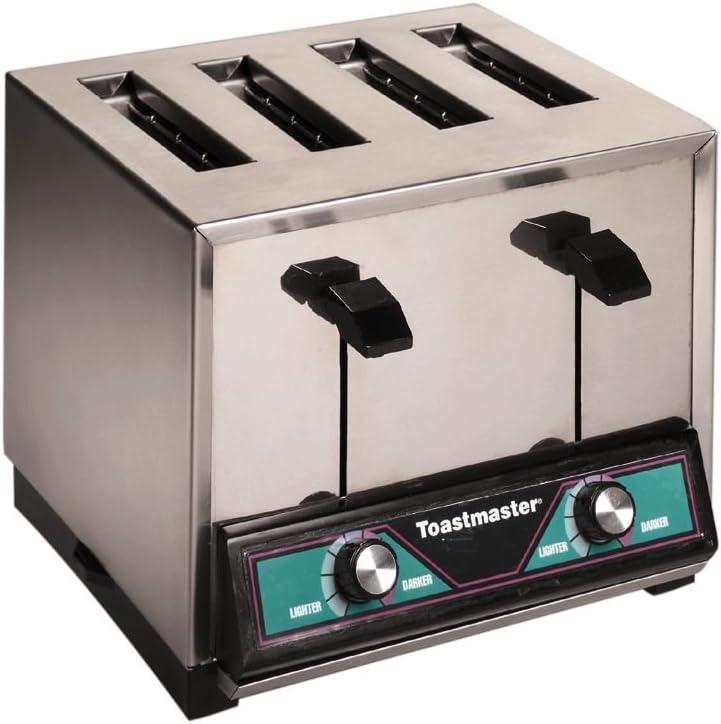 Toastmaster TP409 4-Slot 250 Slices/hr Pop-Up Toaster