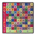 Flagship Carpets Multiply and Divide Rug, A Great Resource for Math Games and Activities, Children's Classroom Educational Carpet