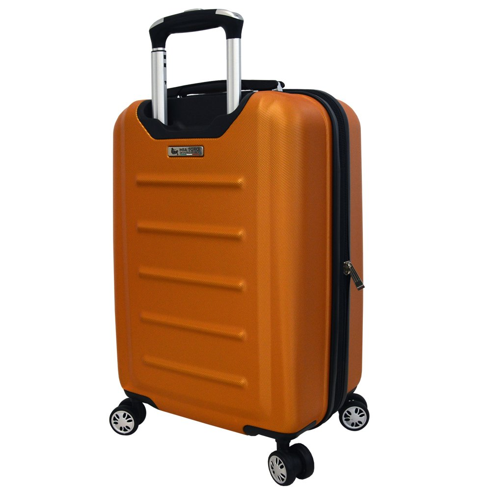 Mia Toro Moderno Hardside Spinner Suitcase Luggage
