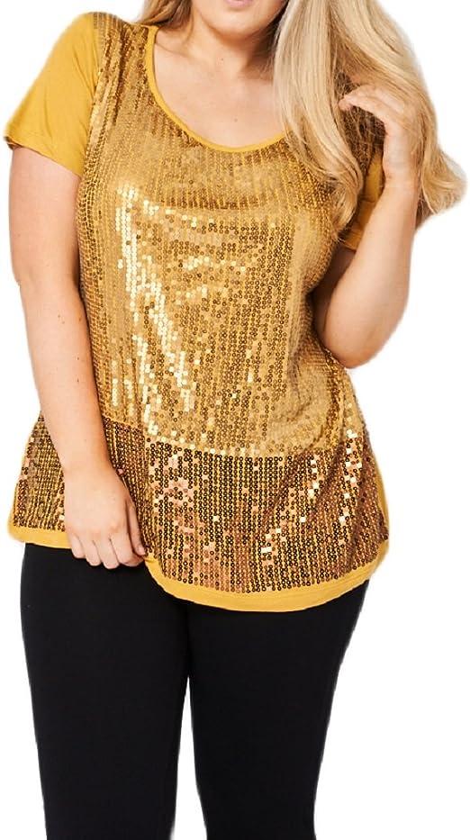 Star Dream - Camisas - para mujer dorado dorado: Amazon.es ...