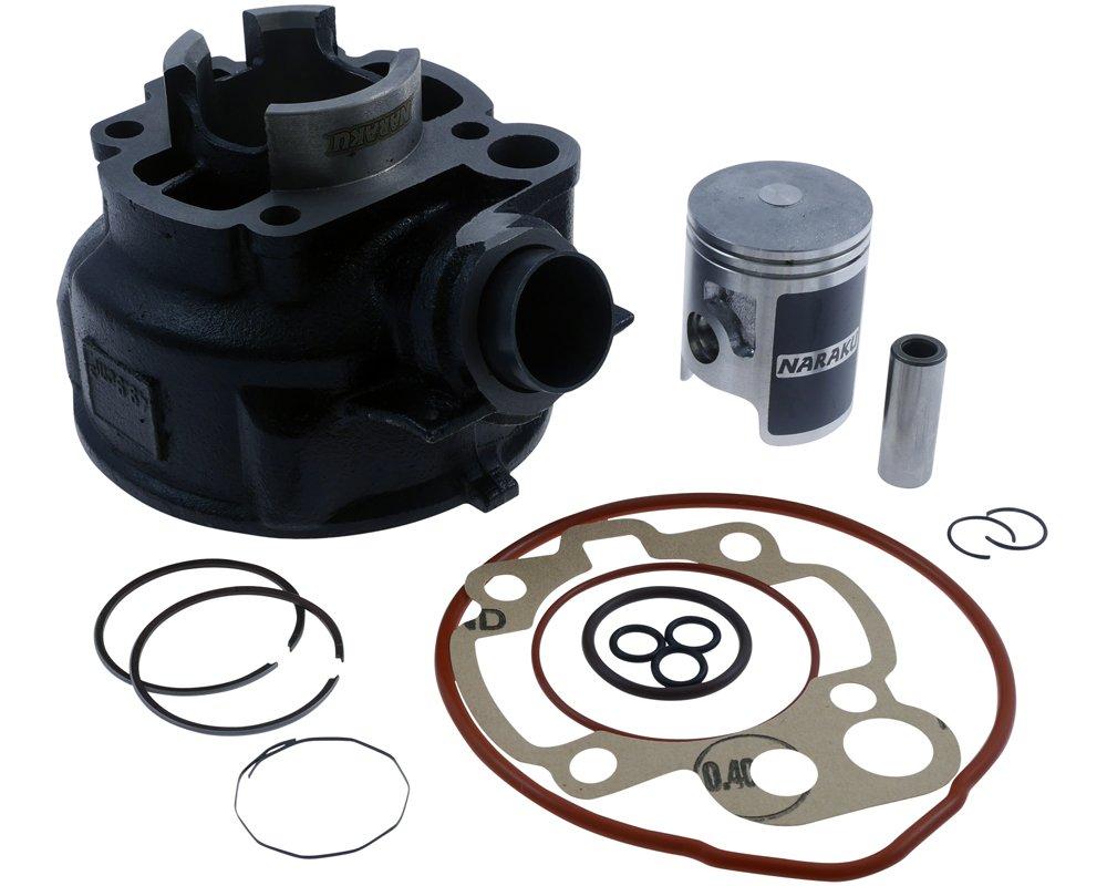 Zylinder Kit NARAKU 50ccm 25/28mm fü r Beta-RR 50 AM6 03- Alurahmen