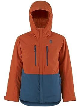 Chaqueta Infantil de Snowboard Scott vertic 2L Chaqueta Joven, invierno, infantil, color burnt orange/eclipse blue, tamaño medium: Amazon.es: Deportes y ...