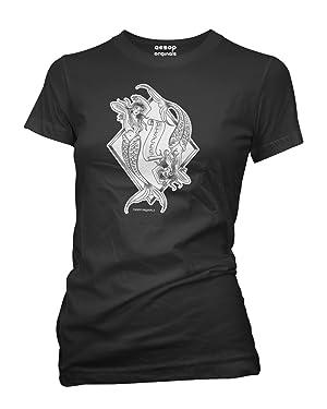 Aesop Originals Women's Pisces T-Shirt 3XL Black