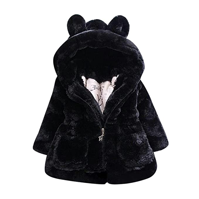 e8ea6bd9e Amazon.com  WuyiMC Cotton Coat for Girls