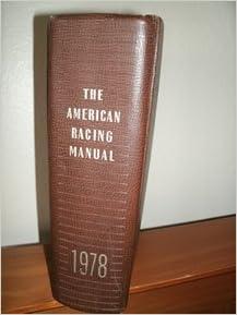 The American Racing Manual 1978: Daily Racing Form  Inc
