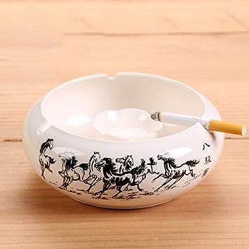 20180517 Persönlichkeit Mode Chinesischen Wind Großen Wohnzimmer  Schlafzimmer Kristall Aschenbecher Europäischen Mode Ideen Keramik  Aschenbecher (