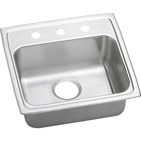 Ada Kitchen Sink Elkay lustertone lrad1919603 single bowl top mount stainless steel elkay lustertone lrad1919603 single bowl top mount stainless steel ada kitchen sink workwithnaturefo
