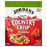 Jordans Country Crisp Strawberry - 400g - Single Box (400g x 1 Box)