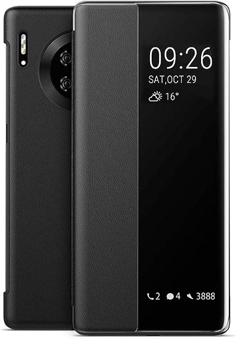 Eudth Huawei Mate 30 Pro Hülle Mirror Smart View Flip Elektronik