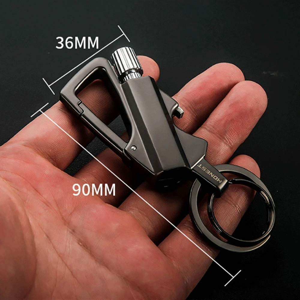 Amazon.com: BOLLAER - Llavero de metal para principiantes al ...
