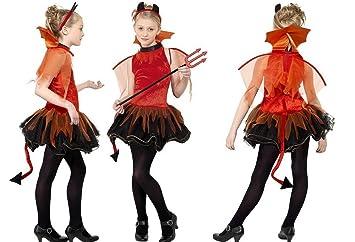 Deguisement Diablesse Adolescente 152163cm Robe Costume Halloween