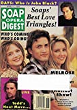 Courtney Thorne-Smith, Andrew Shue & Heather Locklear (Melrose Place) - April 12, 1994 Soap Opera Digest