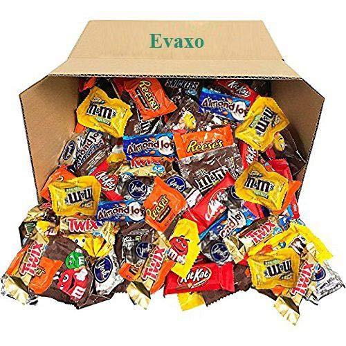 Candy & Chocolate HERSHEYS Nestle M&M'S Variety Assortment Mix Bulk Value (5.62 Pound)