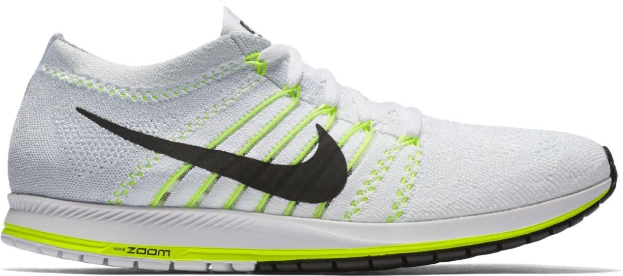 a61c371ef1e73 Nike Flyknit Streak - White/Black/Volt, multicoloured, 11.5: Amazon ...