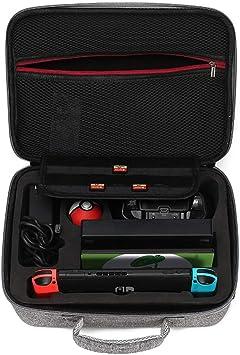 WUZHENG Maleta para Switch, maletín de Transporte Compatible con Nintendo Switch: Amazon.es: Deportes y aire libre