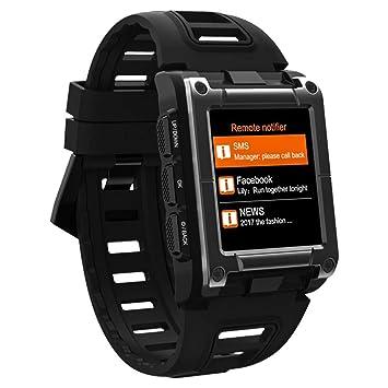 YSCYLY Rastreador de Ejercicios Pulsera Inteligente Banda Reloj Pulsera GPS Movimiento Ritmo Cardíaco Dinámico Natación IP68