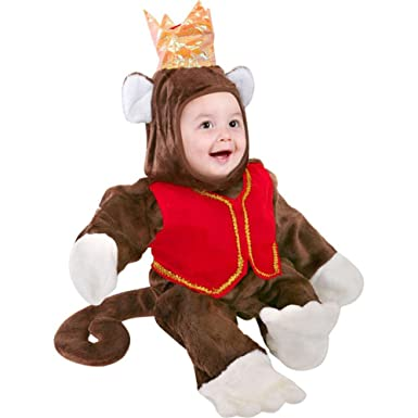 Amazon.com: Infant Circus Monkey Baby Halloween Costume (18-24 ...
