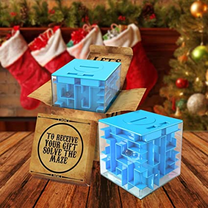 amazoncom agreatlife money maze puzzle box perfect way to store or give money cube money or card holder for kids boy girls teens and adults toys