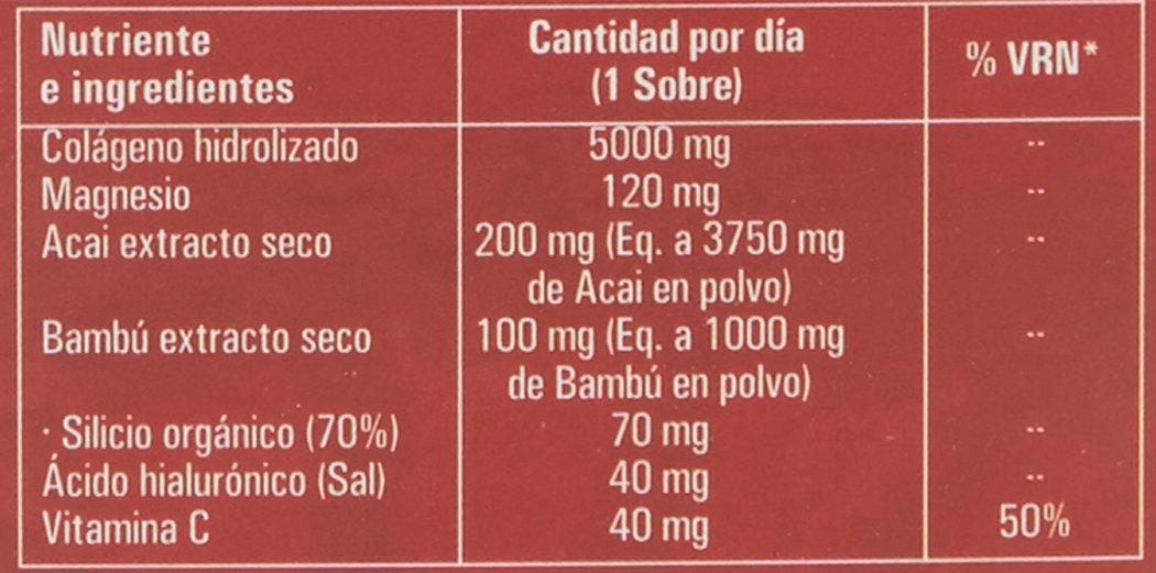 Nutriox Antiox Colagen C, Colágeno Hidrolizado Fortigel - 30 Sobres: Amazon.es: Salud y cuidado personal