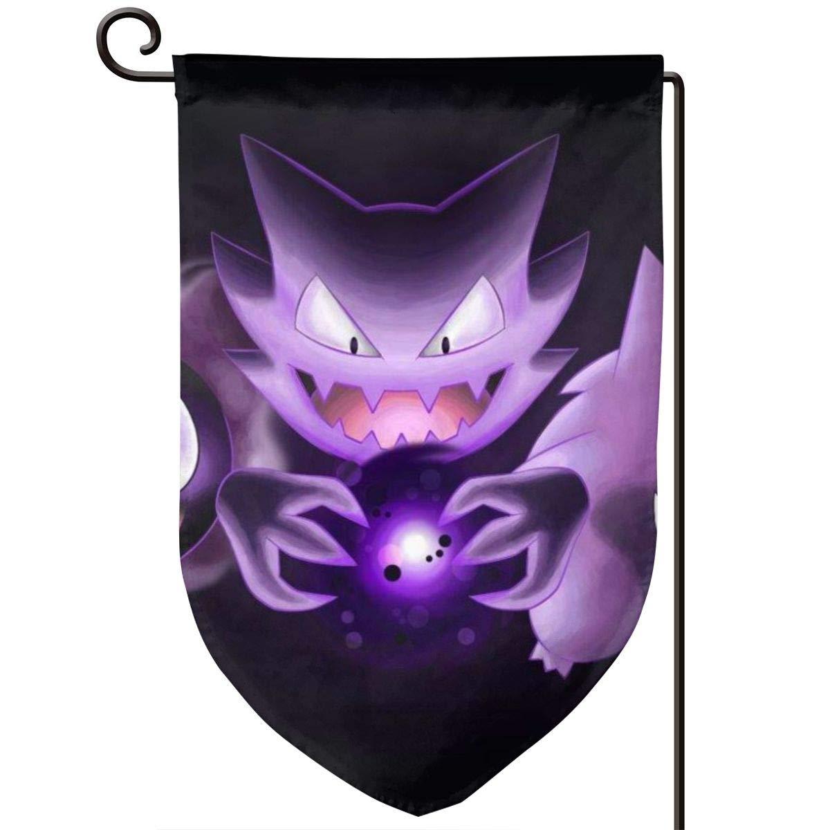 Amazon.com: OKSLFSW Ghost Pok-emon - Bandera de jardín ...
