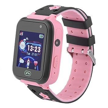 Oumij Smartwatch para Niños, Bluetooth Llamada Táctil a Prueba de ...