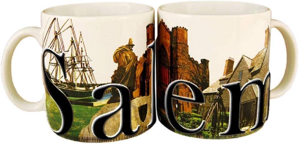 Americaware SMSLM01 Salem 18 oz Full Color Relief Mug