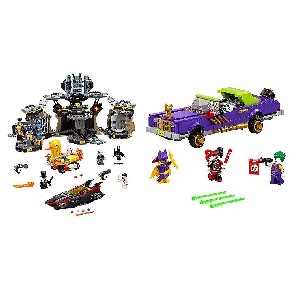 The Lego Batman Movie Batcave Break In 70909 Superhero Toy With Joker Notorious Lowrider 70906 Bundle Toys
