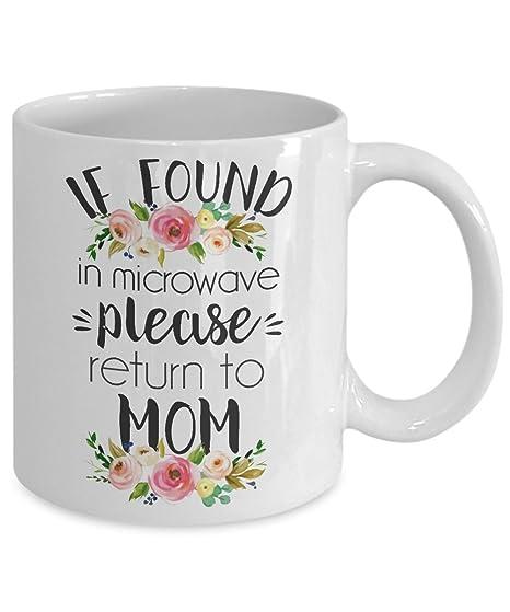 Amazon.com: Funny tazas de café para mamá – si encontrado en ...