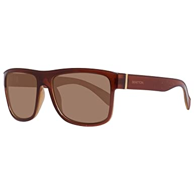 United Colors of Benetton BENETTON Herren Sonnenbrille BE951S02, Braun (Brown), 56