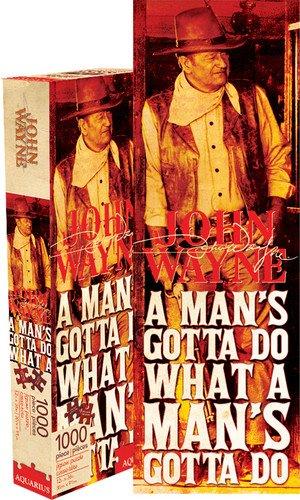 Aquarius John Wayne Slim Puzzle (1000 Piece)