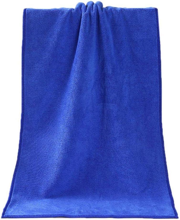 Fournitures pour Salle de Bain en Fibre Superfine L x 5 75-35CM Aubergine DACCU 1 Serviette de Douche absorbante en Fibre Super Douce et Confortable